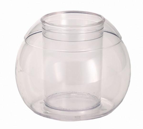 CARAFINE Standfuß `Solo Crystal` Kunststoffkugel