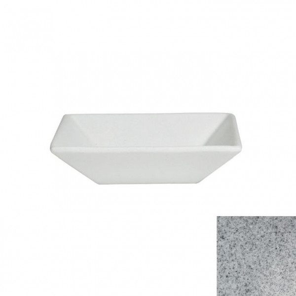 tiefe Schüssel, quadratisch M grau - 1,8 L - 25 x 25 x 6 c