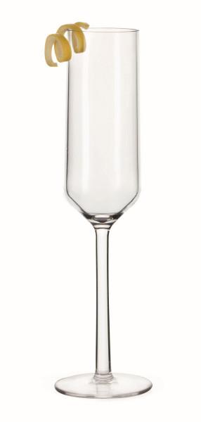 Sektflöte aus Polycarbonat Via™ - 177 ml - Ø 5,0 x 23,5 cm