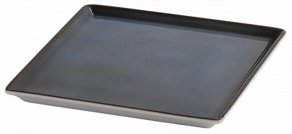 SPARE Platte/Schale '23x23' blau Porzellanplatte 1/1