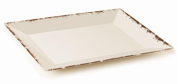 Melamin Platte, rechteckig Tuscan™ - 61 x 45,7 cm
