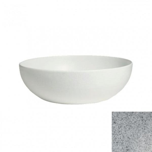 tiefe Schüssel, rund, XL grau - 15 L - Ø 50 x 18,5 cm