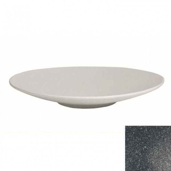 Wok flach, rund granitschwarz - 3,5 L - Ø 47 x 7 cm