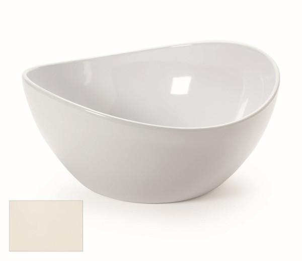 Melamin Schale, rund Osslo™ Amerikaweiß - 3,8 l - Ø 27,9 cm