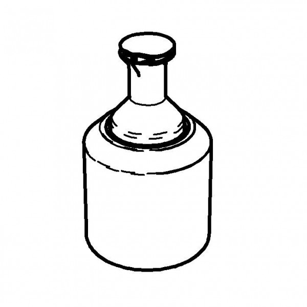 CARAFINE Getränke-Set `Solo` 1,2 Liter, Modell Gold