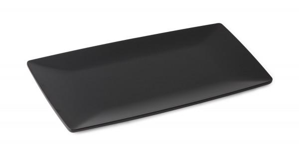 Melamin Tablett Siciliano® - schwarz - 38,1 x 19,1 cm