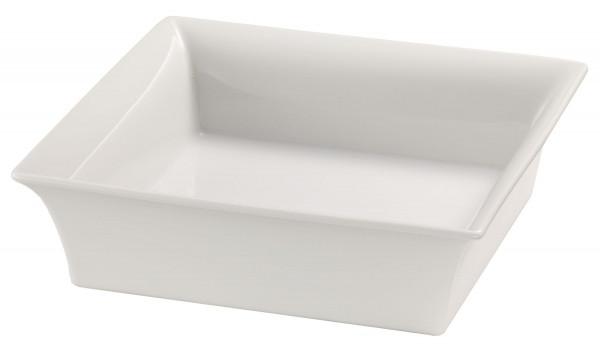 Porzellanschale 25 x 25, weiß 2,5 l