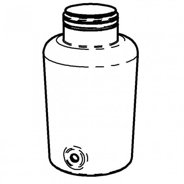 SPARE Behälter Classic Glascontainer mit Bügelverschluss, 8l