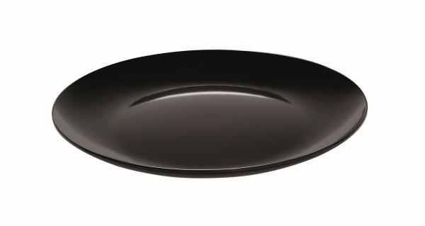 Melamin Platte, rund Siciliano® - schwarz - Ø 61 cm