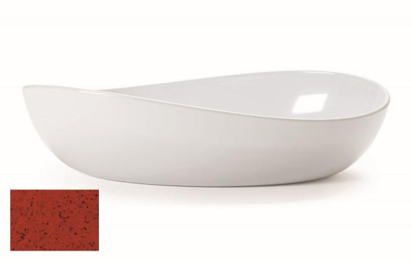 Melamin Schale, oval Osslo™ Chili - 3,8 l - 40 x 22,9 cm