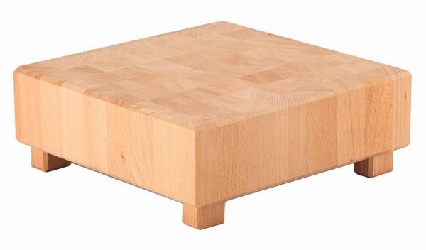 PURE NATURE Butcher Block 'L-Cube' (S) Buche, massiv (Natur)