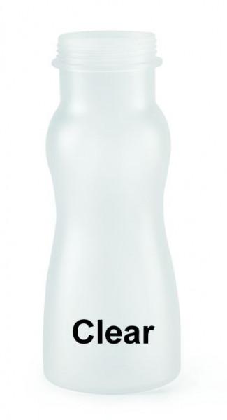 Flasche, Polycarbonat, transparent 473 ml - 18,5 cm