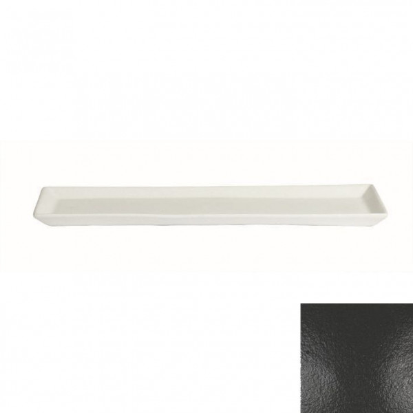 Gorumet Platte schwarz - 500 ml - 19,5 x 48,5 x 3 cm
