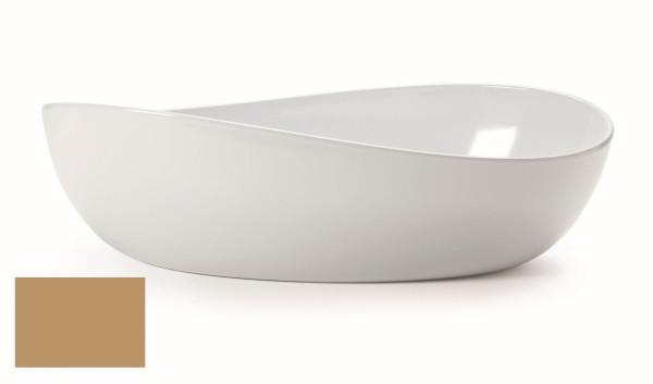 Melamin Schale, oval Osslo™ Latte - 5,7 l - 42,5 x 25,4 cm