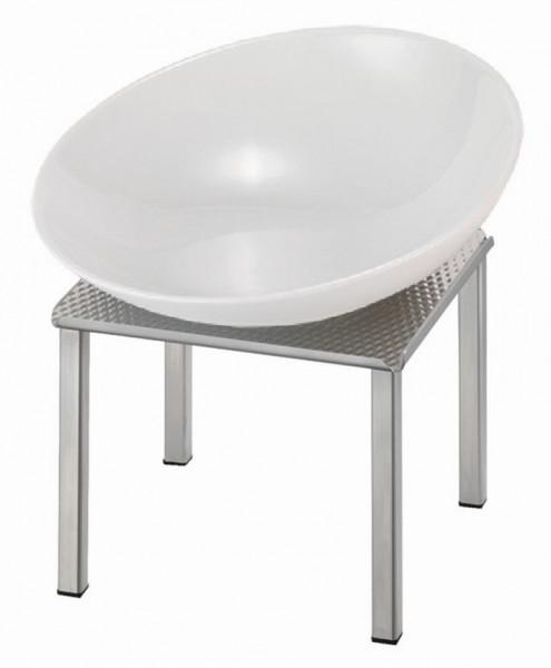 RAISER 'Buffetschale 23x23' weiß 2,0 l - L-Standfuß