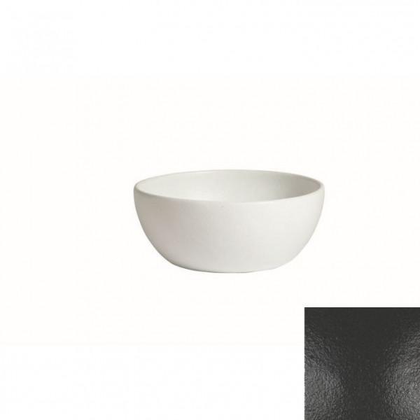 tiefe Schüssel, rund, S schwarz - 2,3 L - Ø 22 x 9 cm