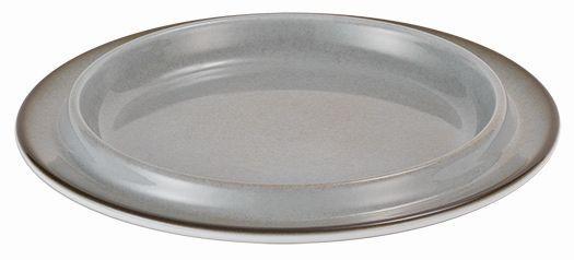 SPARE Platte/Schale - grau Porzellanschale Ø 200mm