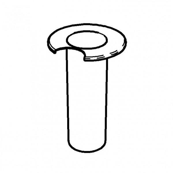 SPARE Kühlung Crasheisröhre für Milchkanne 3 Liter