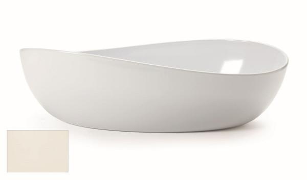Melamin Schale, oval Osslo™ Am.weiß - 5,7 l - 42,5 x 25,4 cm