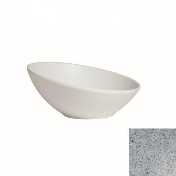 Kugelschale, flach grau - 1,6 Liter - Ø 27 cm x 11,5 cm