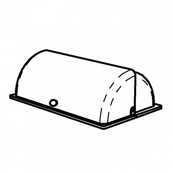 SPARE Deckel/Haube 'GN' Rolltop-Haube mit Griff (24 Karat