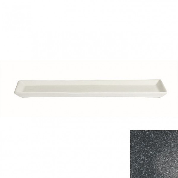 Gorumet Platte gran.schw. - 500 ml - 19,5 x 48,5 x 3 cm