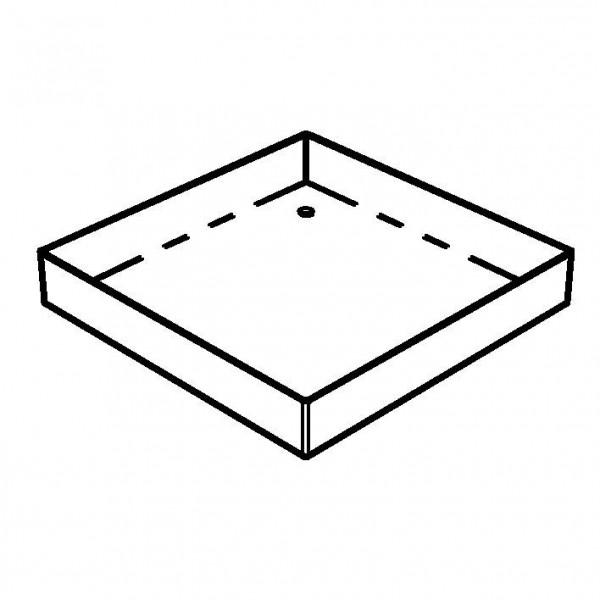 SPARE Platten/Schalen Edelstahlschale für '33x33' Joghurt-