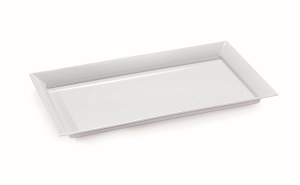 Melamin Tablett Siciliano® - weiß - 71,1 x 40,6 cm