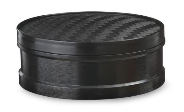 Melamin Dampfkorb Schwarz -21,6 cm