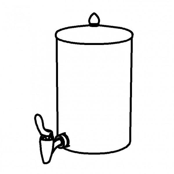 ELEGANCE Nachschubbehälter 'Aktiv' Opal, für 5 Liter, Modell