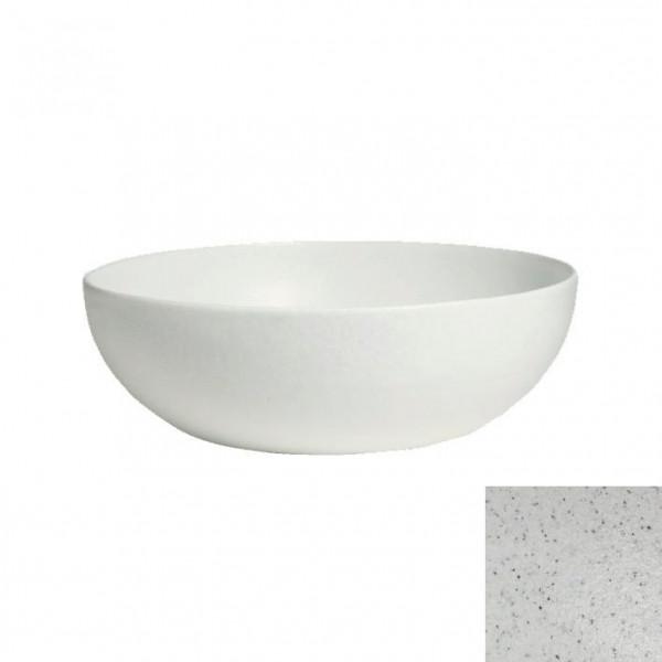 tiefe Schüssel, rund, XL marmorweiß - 15 L - Ø 50 x 18,5 cm