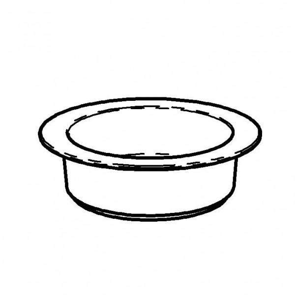 SPARE Platte/Schale `300` 3,0 l - Porzellanschale (Ø 300 mm