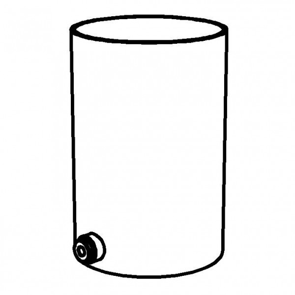 SPARE Behälter Saftzylinder SAN, transparent, 5 Liter