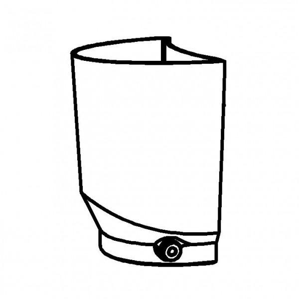 SPARE Behälter Saftzylinder SAN, 4 Liter mit Fitting