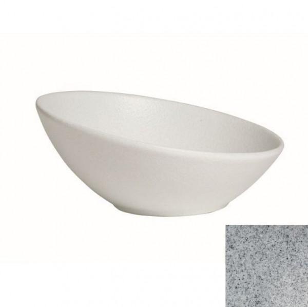 Kugelschale, flach grau - 3,5 Liter - Ø 32,5 cm x 14 cm