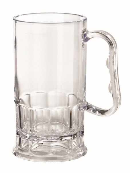 Bierkrug aus SAN 296 ml - Ø 10,2 x 12,7 cm