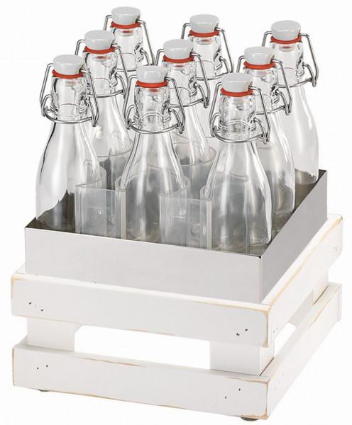 RAISER Getränke-Set '23x23' M-Standfuß 'Vintage White'