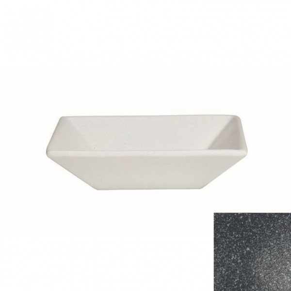 tiefe Schüssel, quadratisch L gran.schw. - 3,0 L - 29,5 x