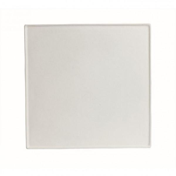 Platte, quadratisch weiß - 45 x 45 x 1,0 cm