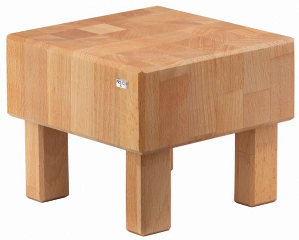 PURE NATURE Butcher Block `S-Cube` Buche, massiv (Natur), H: