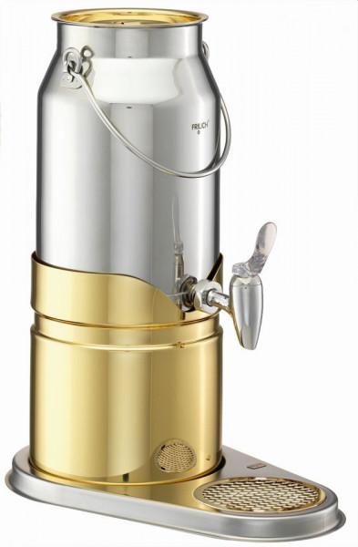 ELEGANCE Milchkanne 5 Liter, Modell Gold