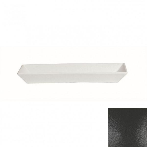 Schale rechteckig, tief schwarz - 3,0 L - 21 x 50,5 x 6 cm