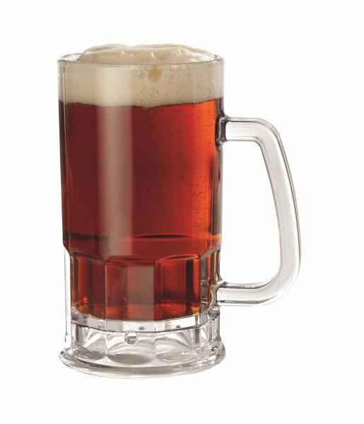 Bierkrug aus SAN 591 ml - Ø 12,7 x 15,9 cm