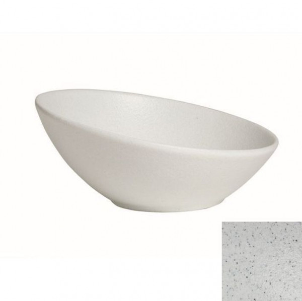 Kugelschale, flach marmorw. - 3,5 Liter - Ø 32,5 cm x 14 cm