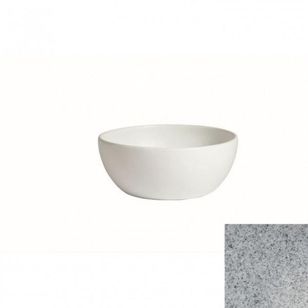 tiefe Schüssel, rund, S grau - 2,3 L - Ø 22 x 9 cm