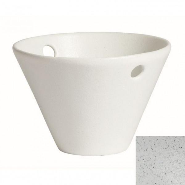 Eiskübel, rund marmorweiß - 1,7 L - Ø 24,5 x 16 cm