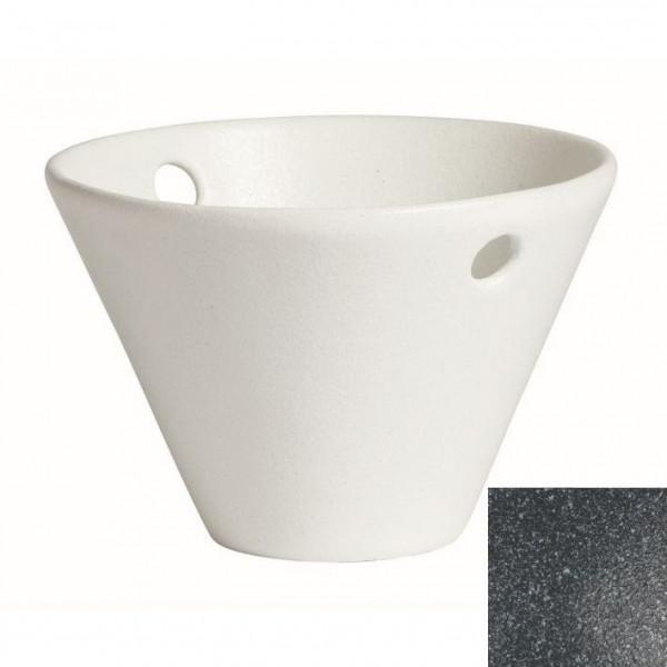 Eiskübel, rund granitschwarz - 1,7 L - Ø 24,5 x 16 cm