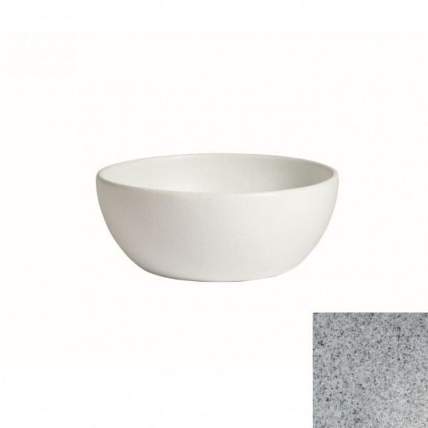 tiefe Schüssel, rund, M grau - 4 L - Ø 27,5 x 11 cm