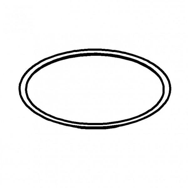 CARAFINE Kantenschutz Kunststoffring, schwarz für Mantel