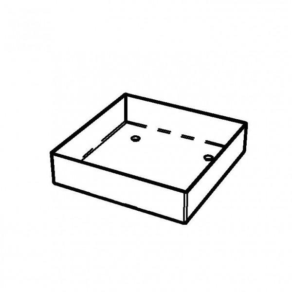 SPARE Platten/Schalen Edelstahlschale für '23x23' Joghurt,-